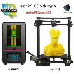 US Anycubic SLA Photon | Chiron 3D Printer Kit Large Print S