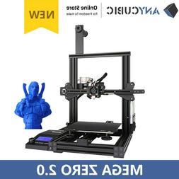 New! Anycubic 3D Printer Mega Zero 2.0 High Precision Resume