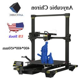US Stock ANYCUBIC Chiron 3D Printer Heat Bed Semi-auto-Level
