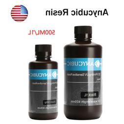 US STOCK ANYCUBIC Multi Color 405nm UV Sensitive Resin For S