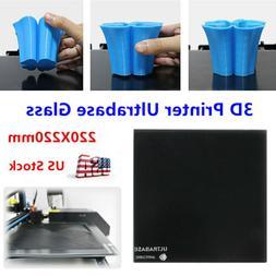 us stock ultrabase 220x220mm glass bulid plate