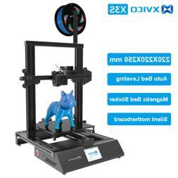 Xvico X3 Pro 3D Printer DIY  Machine Printing Size LCD Scree