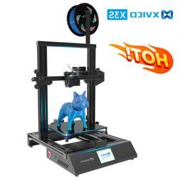 "Xvico X3 Pro FDM 3D Printer DIY Kit 2.4"" Colorful Touch Scre"